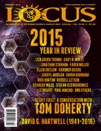 Locus February 2016 (#661) cover - click to view full size