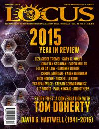 Locus February 2016 (#661) cover