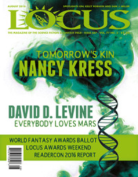 Locus August 2016 (#667) cover - click to view full size