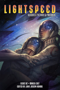 Lightspeed Magazine, Issue 82 (March 2017) cover - click to view full size