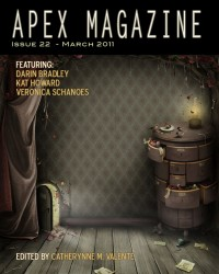 Apex Magazine Issue 22 cover - click to view full size