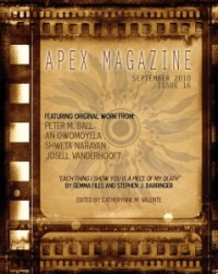Apex Magazine Issue 16 cover - click to view full size