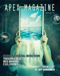 Apex Magazine Issue 15 cover - click to view full size