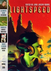 Lightspeed Magazine Issue 11 cover - click to view full size