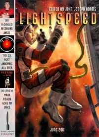 Lightspeed Magazine Issue 13 cover - click to view full size
