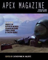Apex Magazine Issue 25 cover - click to view full size