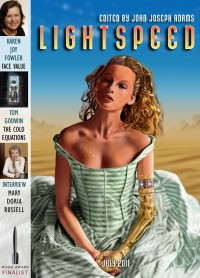 Lightspeed Magazine Issue 14 cover - click to view full size