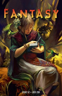 Fantasy Magazine Issue 52 cover - click to view full size