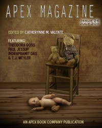 Apex Magazine Issue 26 cover - click to view full size