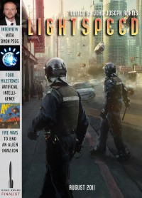 Lightspeed Magazine Issue 15 cover - click to view full size