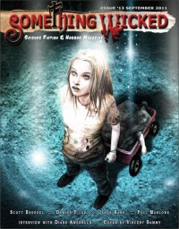 Something Wicked Issue 13 (September 2011) cover - click to view full size