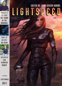 Lightspeed Magazine Issue 16 cover - click to view full size