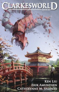 Clarkesworld Magazine – Issue 61 cover - click to view full size