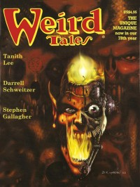 Weird Tales #327 cover - click to view full size