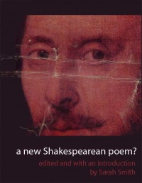 A New Shakespearean Poem? cover - click to view full size
