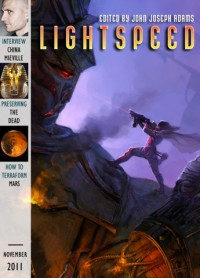 Lightspeed Magazine Issue 18 cover - click to view full size