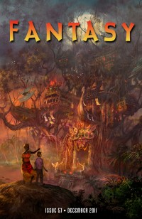 Fantasy Magazine Issue 57 cover - click to view full size