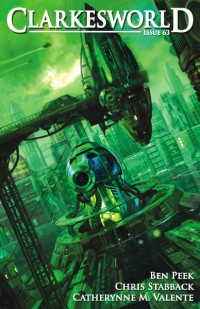 Clarkesworld Magazine – Issue 63 cover - click to view full size