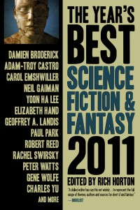 The Year's Best Dark Fantasy and Horror, 2011 Edition cover - click to view full size