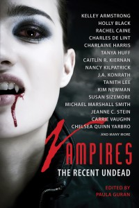 Vampires: The Recent Undead cover - click to view full size