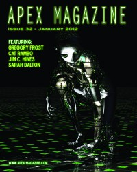 Apex Magazine – Issue 32 cover - click to view full size