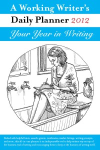 A Working Writer's Daily Planner 2012 cover - click to view full size