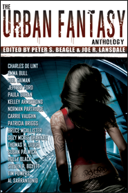 The Urban Fantasy Anthology cover - click to view full size