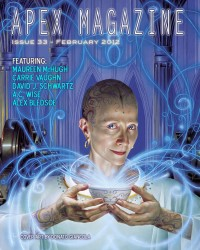 Apex Magazine – Issue 33 cover - click to view full size