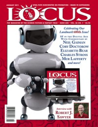Locus January 2011 (#600) cover - click to view full size