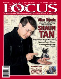 Locus April 2011 (#603) cover - click to view full size