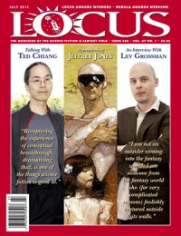 Locus July 2011 (#606) cover - click to view full size