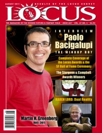 Locus August 2011 (#607) cover - click to view full size