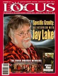 Locus September 2011 (#608) cover - click to view full size