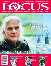 Locus January 2012 (#612) cover - click to view full size