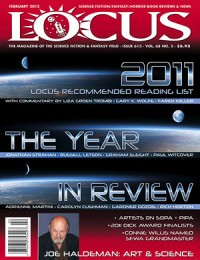 Locus February 2012 (#613) cover - click to view full size