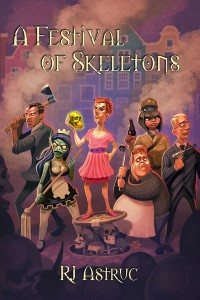 A Festival of Skeletons cover - click to view full size