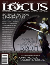 Locus April 2012 (#615) cover - click to view full size