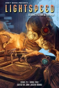 Lightspeed Magazine Issue 23 cover - click to view full size