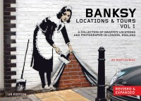 Banksy Locations and Tours Volume 1 cover - click to view full size