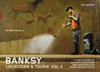 Banksy Locations and Tours Volume 2 cover - click to view full size