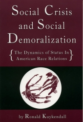 Social Crisis and Social Demoralization cover - click to view full size
