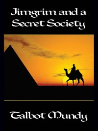 Jimgrim and a Secret Society cover - click to view full size