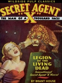 Secret Agent X: Legion of the Living Dead cover - click to view full size