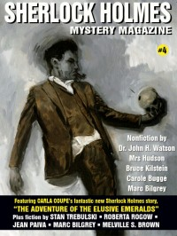 Sherlock Holmes Mystery Magazine #4 cover - click to view full size