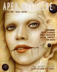 Apex Magazine – Issue 36 cover - click to view full size