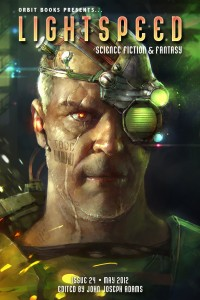 Lightspeed Magazine Issue 24 cover - click to view full size