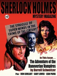 Sherlock Holmes Mystery Magazine #2 cover - click to view full size
