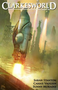 Clarkesworld Magazine – Issue 70 cover - click to view full size