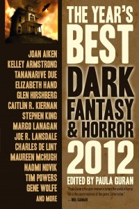 The Year's Best Dark Fantasy and Horror 2012 cover - click to view full size