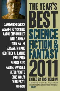 The Year's Best Science Fiction & Fantasy: 2011 cover - click to view full size